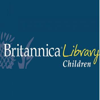 Britannica Library Children Logo