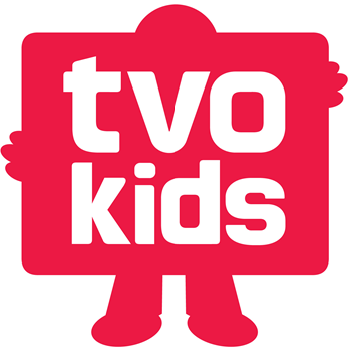 TVO Kids Ages 11 and under Logo