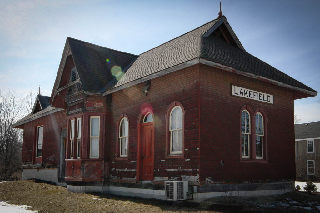 Lakefield's old Train Station